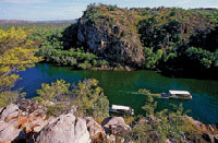 Nitmiluk National Park in Northern Territory 3.5 hours south of Darwin