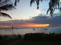 Mindil Beach and the Darwin sailing club just 8 minutes drive in your motorhome from Darwin CBD